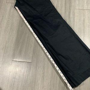 Banana Republic Black Logan Fit Slacks size 14